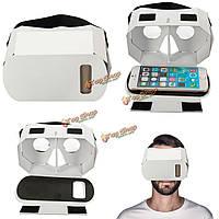 3D очки виртуальной реальности картонные