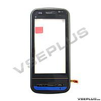 Тачскрин (сенсор) Nokia C6-00, черный