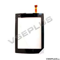 Тачскрин (сенсор) Nokia X3-02, черный