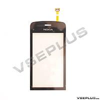 Тачскрин (сенсор) Nokia C5-03 / C5-06, черный
