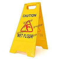 Профессиональный мокрый предупреждение этаж осторожность опасность чистки скользкой знак безопасности