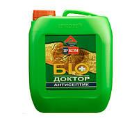 """Грунтовка с антисептическим действием для древесины """"Биодоктор"""" ИР-011 5 л."""
