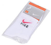 Носки женские с логотипом Nike белые, Белый