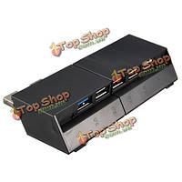 USB 3.0 разъем адаптера 2.0 высокоскоростной 5-портовый концентратор расширить для Сони PlayStation 4 PS4 консоли