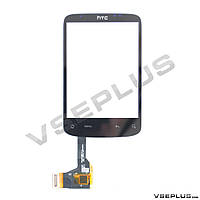 Тачскрин (сенсор) HTC A3333 WILDFIRE, черный, с микросхемой