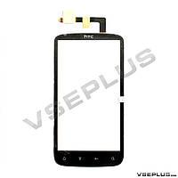 Тачскрин (сенсор) HTC Z710e Sensation G14, черный