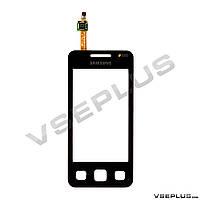 Тачскрин (сенсор) Samsung C6712 Star 2 DuoS, черный