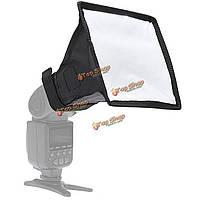 15см х 17см складной вспышка софтбокс диффузор для DSLR камеры вспышкой черного