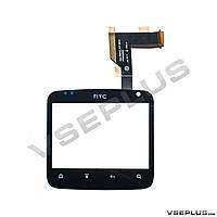 Тачскрин (сенсор) HTC A810e ChaCha G16, черный