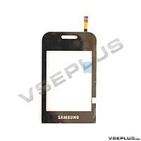 Тачскрин (сенсор) Samsung E2652 Champ Duos, черный