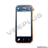Тачскрин (сенсор) Nokia N97 mini, коричневый