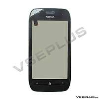 Тачскрин (сенсор) Nokia Lumia 710, черный