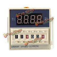 DH48S-х цикл устройства задержки 220В цифровой дисплей времени задержки реле