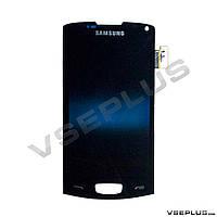 Дисплей (экран) Samsung S8600 Wave 3, черный, с сенсорным стеклом