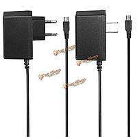 5V 1A мини-USB зарядное устройство AC адаптер питания ЕС/США Plug для GPS MP3 радио динамик камеры и т.д.