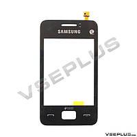 Тачскрин (сенсор) Samsung S5220 Star 3 Duos / S5222 STAR 3 Duos, черный