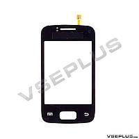 Тачскрин (сенсор) Samsung S6102 Galaxy Y Duos, черный