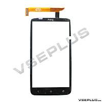 Тачскрин (сенсор) HTC S728e One X+ / X325e One XL / s720e One X, черный