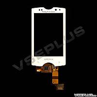 Дисплей (экран) Sony Ericsson SK17i Xperia Mini Pro, белый, с сенсорным стеклом