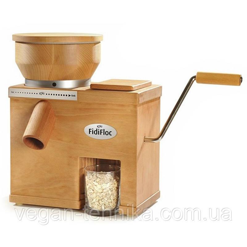 Электрическая мельница + плющилка зерна Komo FidiFloc 21