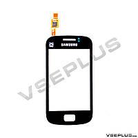 Тачскрин (сенсор) Samsung S6500 Galaxy Mini 2, черный