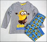 Пижама Minions для мальчиков 3 лет