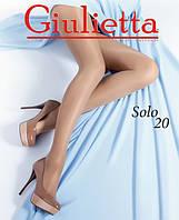 Красивые женские капроновые колготы Giulietta SOLO 20 den (разные цвета), 45/65