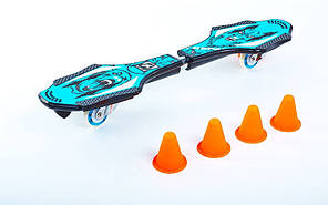 Скейтборд 2-х колесный RipStik (роллерсерф, рипстик) KEPAI