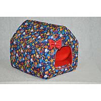 Домик-хатка для собак и кошек Звездочка