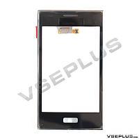 Тачскрин (сенсор) LG E610 Optimus L5 / E612 Optimus L5, черный