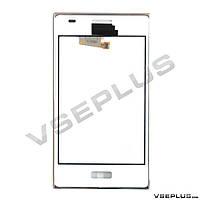 Тачскрин (сенсор) LG E610 Optimus L5 / E612 Optimus L5, белый