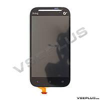 Дисплей (экран) HTC C520e One SV / C525e One SV / T528t One SV, черный, с сенсорным стеклом