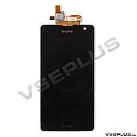 Дисплей (экран) Sony LT29i Xperia TX, черный, с сенсорным стеклом