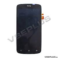 Дисплей (экран) HTC Z320e One S / Z520e One S G25 / Z560e One S, черный, с сенсорным стеклом