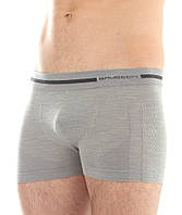 Бесшовные мужские шорты Brubeck Wool Comfort (термо)