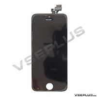 Дисплей (экран) Apple iPhone 5, с сенсорным стеклом, черный