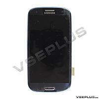 Дисплей (экран) Samsung I747 Galaxy S3 / I9300 Galaxy S3 / I9305 Galaxy S3 Lte / R530 Galaxy S3, синий
