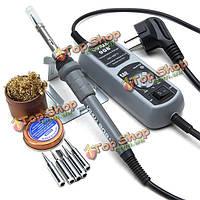 Yihua 908+ 110В 60Вт нам подключить электрический утюг термостат паяльная станция для сварки переделки ремонт