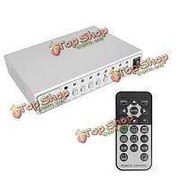 HD 4 канала комплект видеонаблюдения процессор Quad видеокамера система PoE сплиттер переключатель