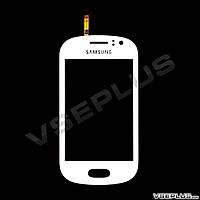 Тачскрин (сенсор) Samsung S6810 Galaxy Fame, белый