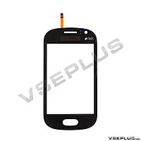 Тачскрин (сенсор) Samsung S6810 Galaxy Fame, черный