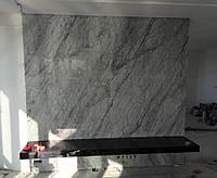 Облицовка стен мраморными плитами