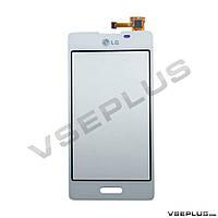 Тачскрин (сенсор) LG E450 Optimus L5 II / E460 Optimus L5 II, белый
