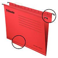 Подвесные папки Esselte Pendaflex, красный, 25 шт.90316