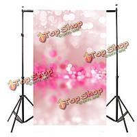 5x7ft винил розовый абстрактный гало тему фотостудия фон фото фон