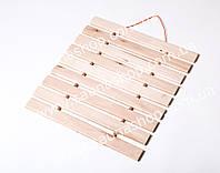Деревянный коврик, подстилка для бани и сауны.