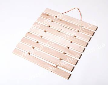 Дерев'яний килимок, підстилка для лазні та сауни.