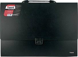 Портфель А3 на 1 відділення, чорний 159881611-01-А