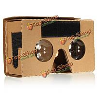 3D очки виртуальной реальности для Google картонную v2 Valencia MAX 6-дюймов телефон