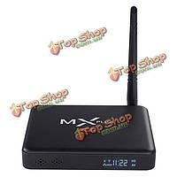 МХ плюс II Amlogic S905 4k 1gb / 8gb Gigabit LAN Bluetooth kodiwith LED Дисплей TV Бокс Android Mini ПК